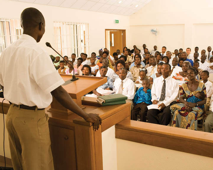 Reunião Sacramental Testemunho
