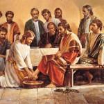 Jesus Lavando pés dos apóstolos