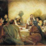 A última ceia com Cristo - páscoa