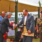Mórmons honram rei e rainha da Tonga