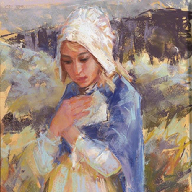 Criança Pioneira por Michael Malm. Imagem via LDS.net.