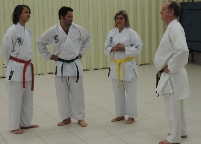 Ex-treinador da seleção de Caratê realizaprojeto em Capela Mórmon