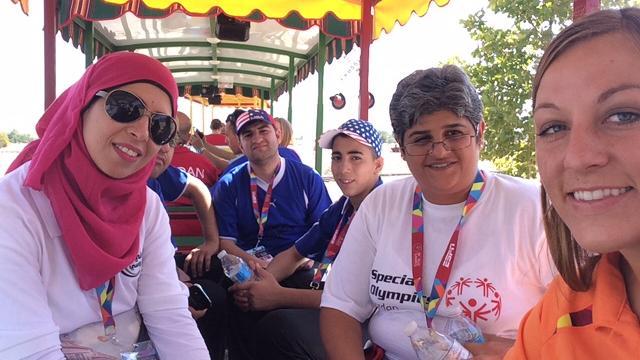 Voluntários da Igreja Agitam nas Olímpiadas Especiais de Verão