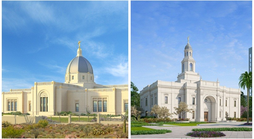 "Igreja Anuncia Duas ""Aberturas de Terra"" de Novos Templos"