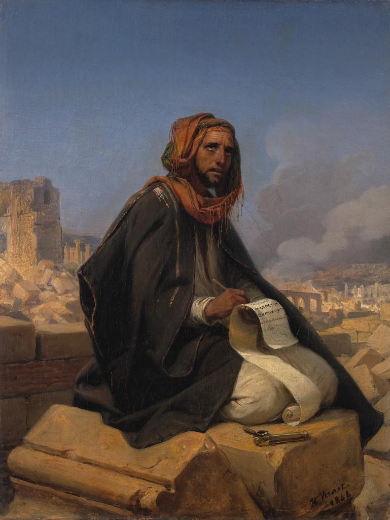 Jeremias experimentou a solidão. Imagem via ldsdaily.com.