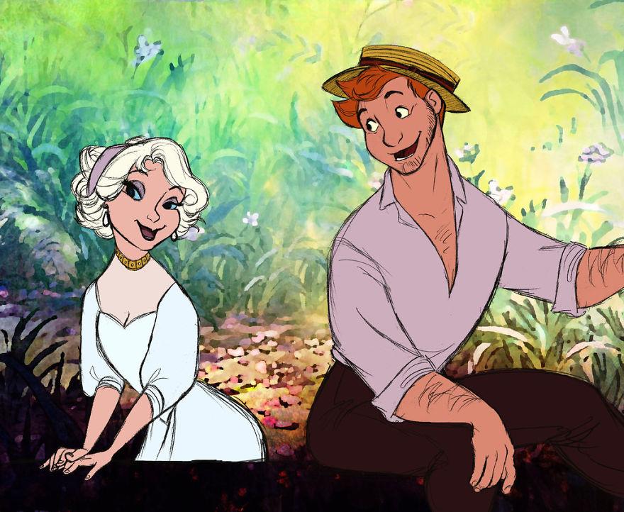 Versão Humana de Animais da Disney por Artista SUD Torna-se Viral
