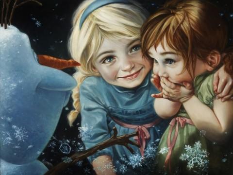 Disney Comissiona Artista SUD a Criar Incríveis Pinturas de Personagens