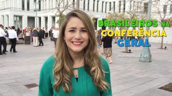 Equipe Mormonsud Entrevista Brasileiros Após Sessão da Conferência Geral