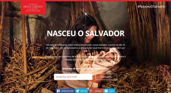 Igreja Pede aos Membros Para Compartilhar Novo Vídeo de Natal