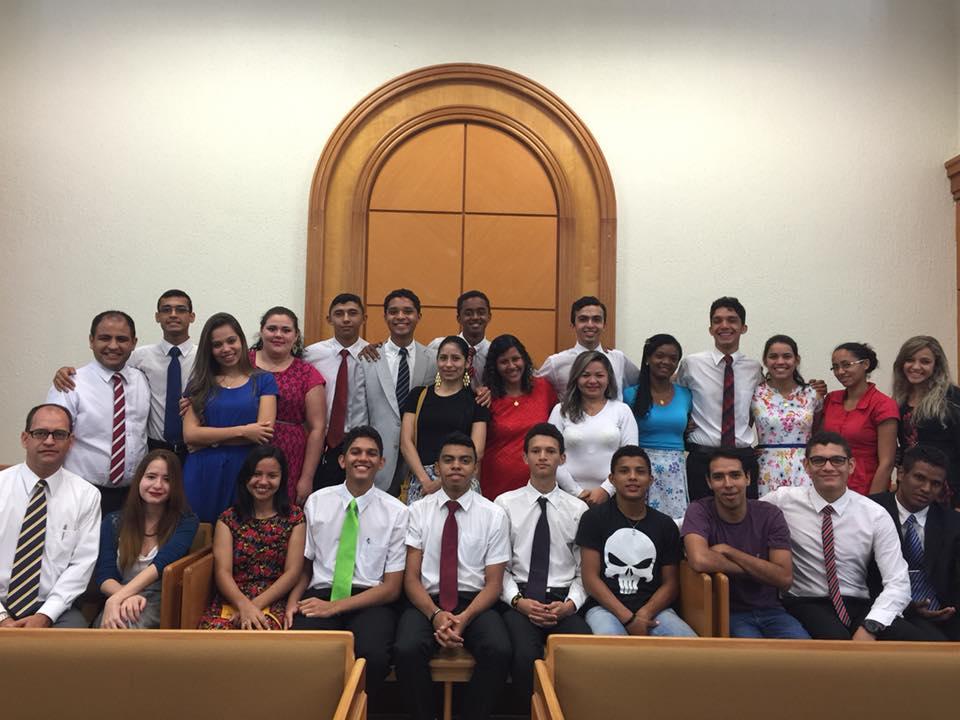 Jovens do Distrito Juazeiro do Norte #foramchamados e aceitaram o desafio missionário