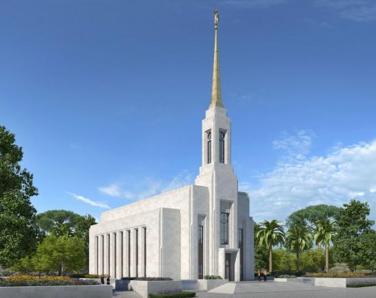 Amanhã acontecerá a abertura de terra do Templo de Portugal