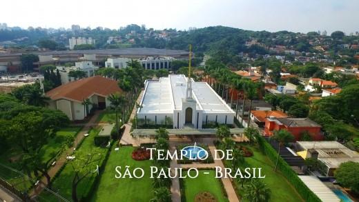 Filmagem do Templo de São Paulo com drone + Making Of