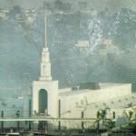 Foto do templo de São Paulo nos estágios finais da construção