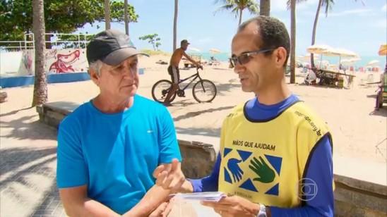 Mutirão Mãos que Ajudam contra Dengue em Recife é notícia na TV