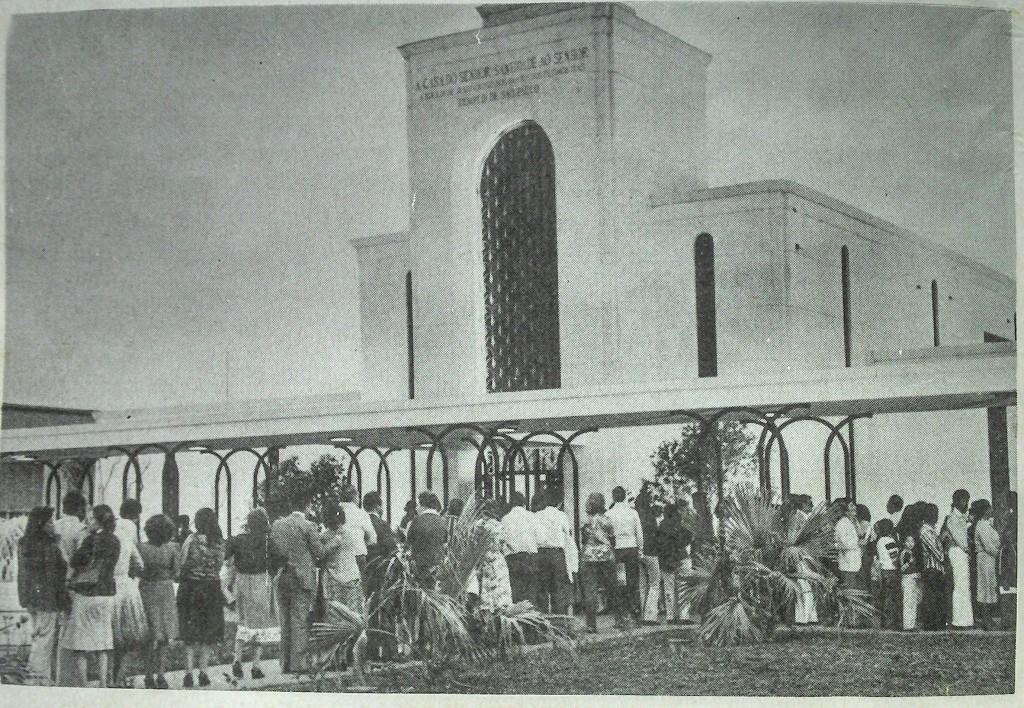 Templo de São Paulo - visitação pública em 1978