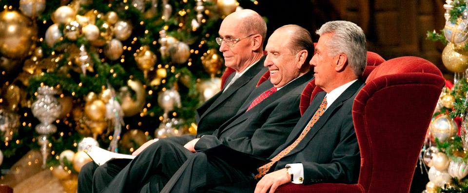 Mensagem de Natal da Primeira Presidência
