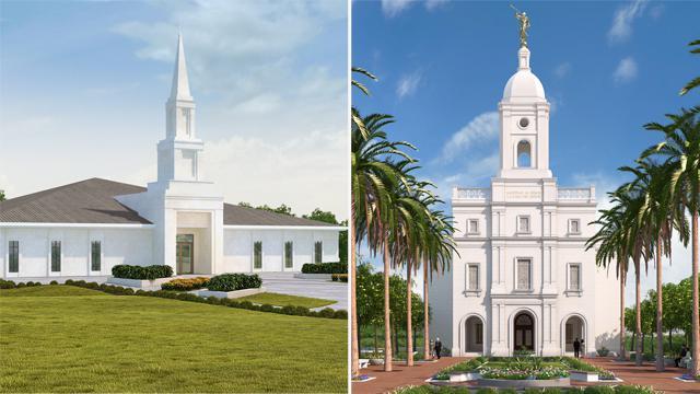 Primeira Presidência anuncia a abertura de terra de mais 2 Templos