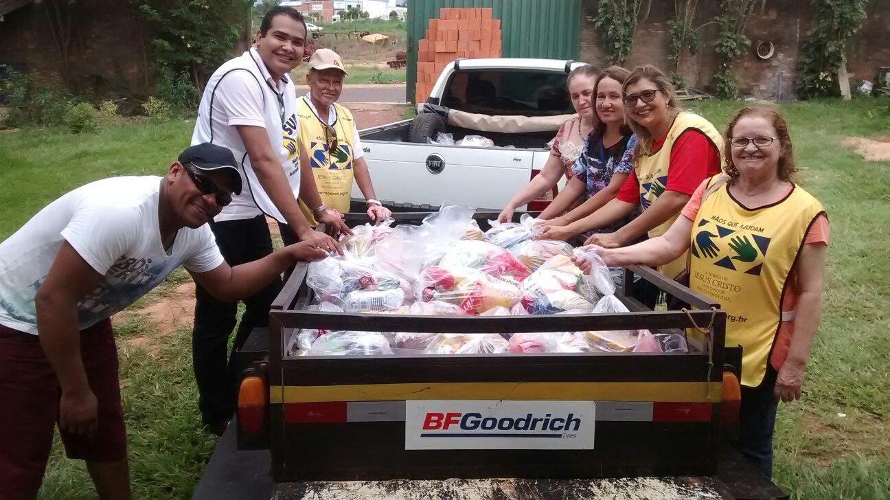 Fim de 2015 Marcado Por Solidariedade em Rondonópolis, MT