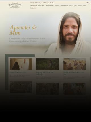 Novo site oficial da Igreja foca em Jesus Cristo