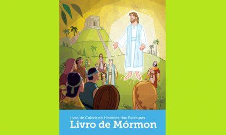 Igreja Publica Livro de Colorir do Livro de Mórmon Para Crianças
