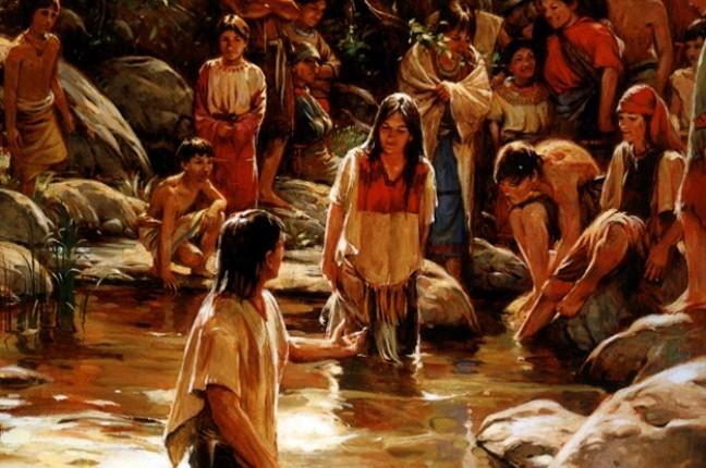 Por que o Livro de Mórmon menciona o Espírito Santo e batismo antes da vinda de Cristo?