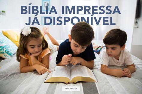 Lançamento da Edição Impressa da Bíblia Sagrada em Português!
