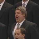 Coro do tabernáculo homem que chorou na conferência