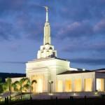 O Templo de Apia Samoa passou por 2 grandes desastres naturais