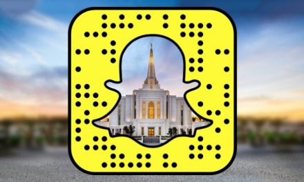 Nova Conta dos Templos Mórmons no Snapchat