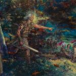Mórmon e Morôni na batalha final do monte Cumora