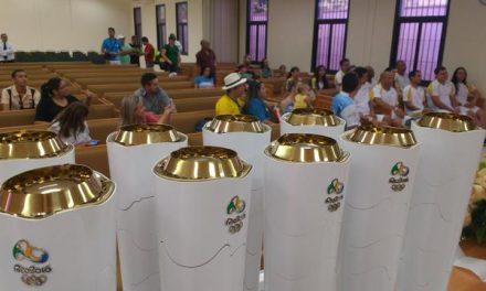 Tocha Olímpica passa por Aracati com apoio da Igreja Mórmon