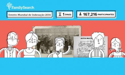 Evento mundial do FamilySearch prevê a participação de 72 mil voluntários