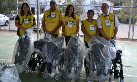 Igreja SUD doa 2000 cadeiras de rodas pelo Brasil