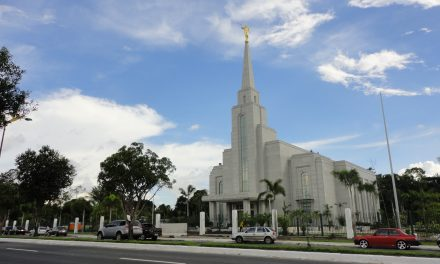 Abertura de terra do Templo de Manaus