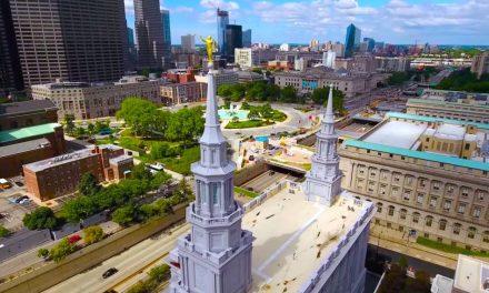 Vídeo maravilhoso mostra imagens áreas e por dentro do Templo de Filadélfia