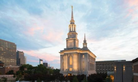 Imagens do novo Templo da Filadélfia Pensilvânia