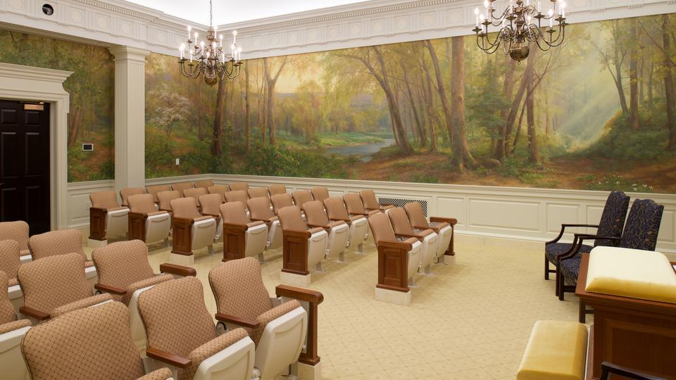 Templo da Filadélfia - sala de instrução