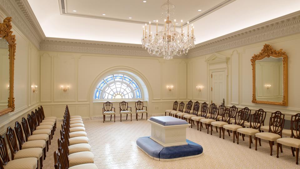 Templo da Filadélfia - sala de selamento