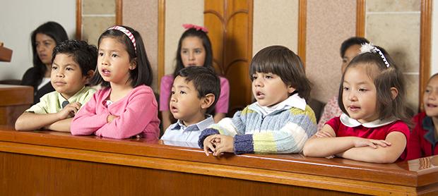 Crianças em Taiwan tempo de compartilhar Primária