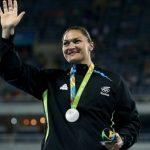 Valeria Adams medalhista olímpica prata - Medalha de prata