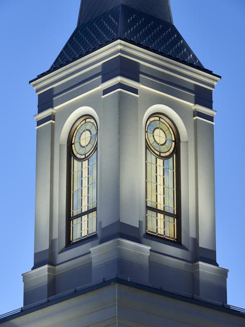 Templo de Star Valley Wyoming torre