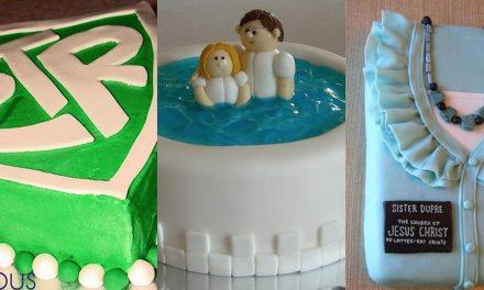 Sete ideias de bolos com tema mórmon
