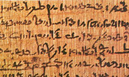 """Que Evidências Apoiam a Existência do Idioma """"Egípcio Reformado""""?"""