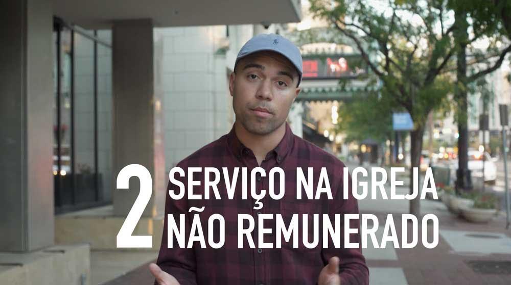 Serviço não remunerado