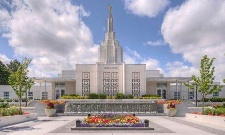 Igreja anuncia data da rededicação do templo de Idaho Falls