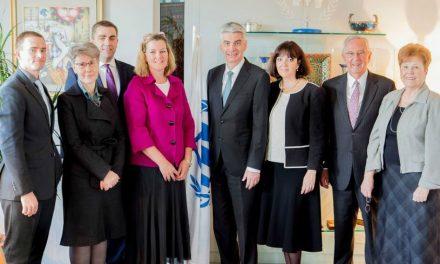 Líderes da Igreja Reúnem-se com Alto Comissariado das Nações Unidas e da UNICEF