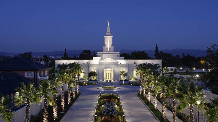 recepção de um casamento mórmon