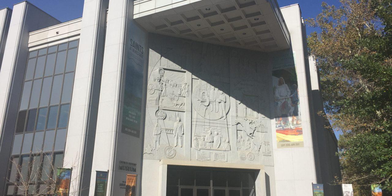 Cinco coisas que você precisa ver quando visitar o Museu de história da Igreja em Utah