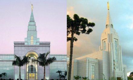 Novos presidentes dos templos de Curitiba e Campinas