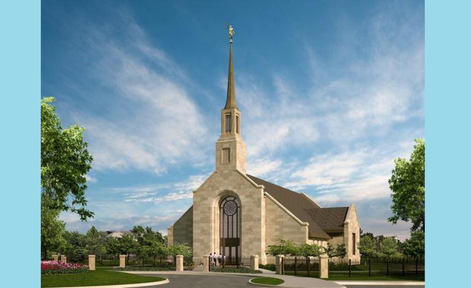 Templo de Winnipeg Manitoba Canadá